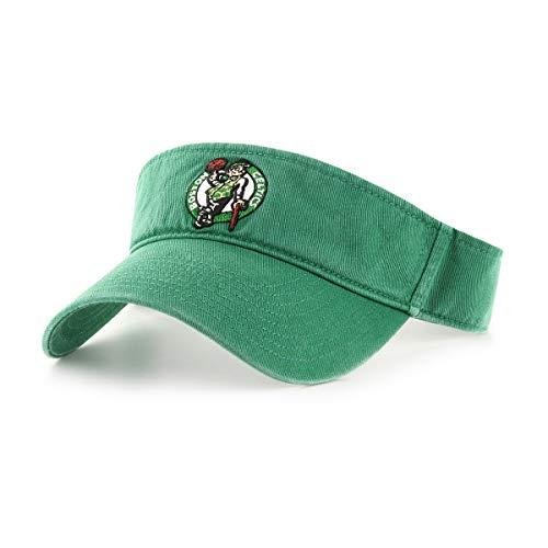 OTS NBA Boston Celtics Men's Visor Adjustable, Team Color, One Size
