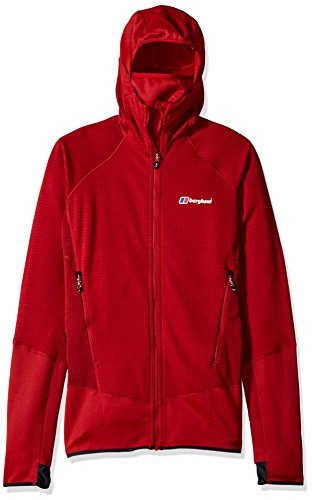Berghaus Pull à Capuche Homme Extrem 7000 XL Red Dahlia