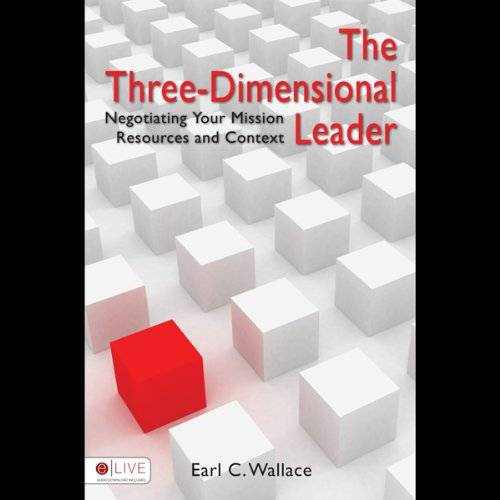 The Three-Dimensional Leader audiobook cover art