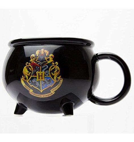 Harry Potter - Cauldron 3D - Mug Keramik Tasse gewölbt Becher - Ø11,5 H8,5 cm