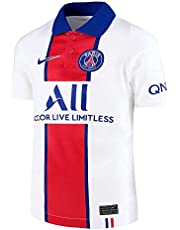 NIKE Paris Saint-Germain Temporada 2020/21 - PSG Y Nk BRT Stad JSY SS Awcd4507-101 Camiseta Segunda Equipación Niños