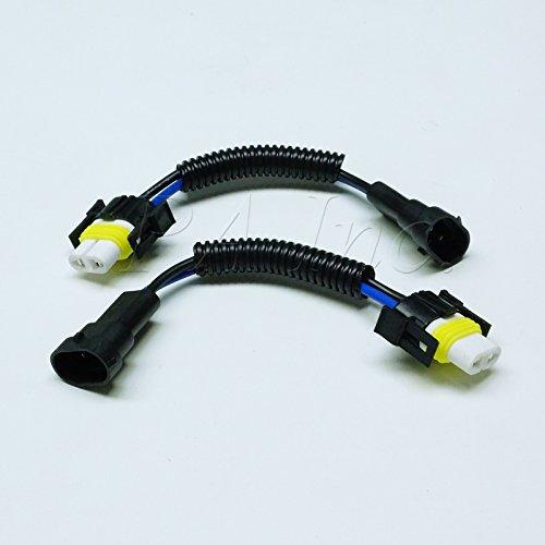 PA 2 x en céramique H11 H8 Hi chaleur Phare ampoule Faisceau de câblage Socket Plug