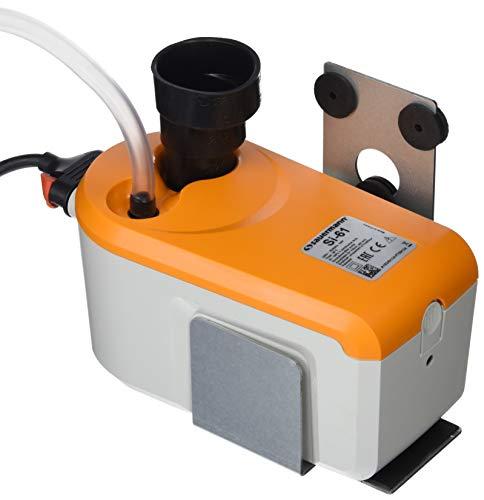 Sauermann Kondensatpumpe mit integriertem Tank, ABS, Weiß/Orange, bis 50 kW