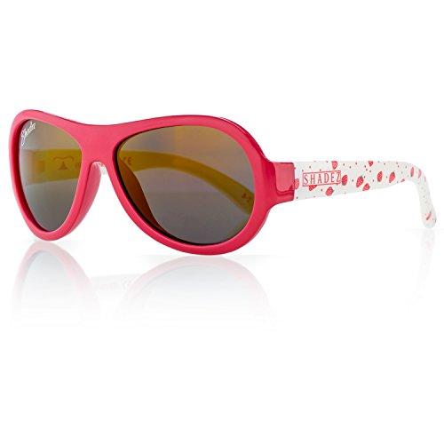 SHADEZ Trendy Sonnenbrille Mädchen, rot