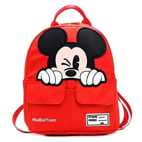 Yuan Ou Mochila infantil Dibujos animados Mickey niños mochilas niños jardín de infantes mochilas escolares mochilas niños niño lindo Rucksa 1