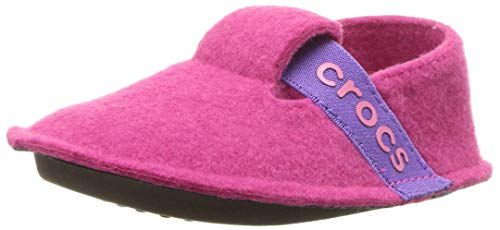 Crocs Unisex-Kinder Classic Slipper Kids Pantoffeln, Pink (Candy Pink),C6 UK(22-23 EU)
