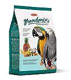 Brit Padovan Grandmix Pappagalli - Alimento Completo per pappagalli - Miscela di Semi e cerali con Frutta - 2 kg