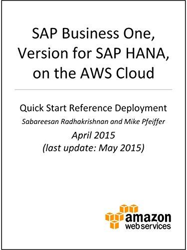 SAP Business One, version for SAP HANA, on AWS (AWS Quick Start) (English Edition)