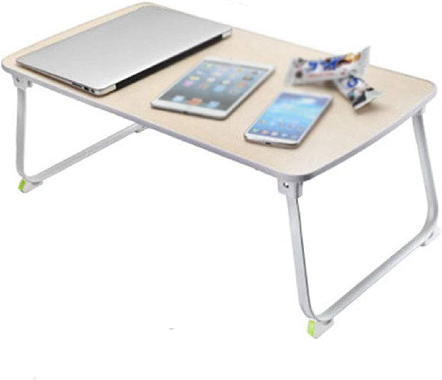 Table, Bed with Desk, Multi-Function Lazy Table, Laptop Folding Table, Stable, Light, Small Table Portable Table (color   D)