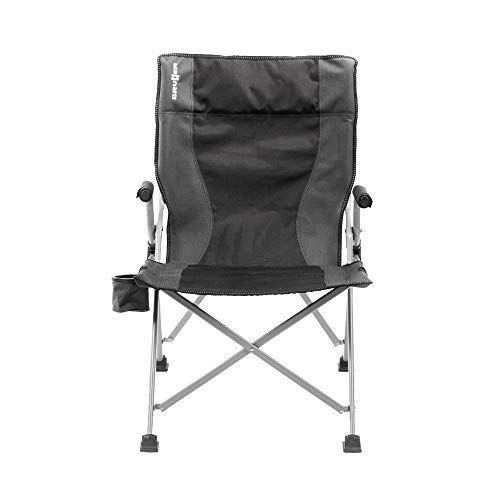BRUNNER Raptor Enduro Camping Stuhl Faltbar (Einheitsgröße) (Grau/Schwarz)