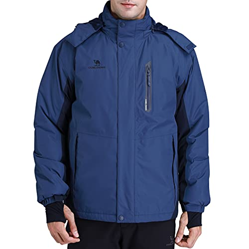CAMEL CROWN Men's Mountain Snow Waterproof