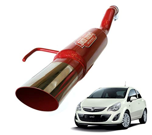 ETS-EXHAUST 1261 Exhaust Rear Silencer fits CORSA B 1.2 1.4 1.5 D 1.5 TD 1.7 D HATCHBACK VAN 45//64//60//82//50//67hp 1993-2000