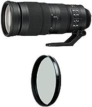 Nikon AF-S FX NIKKOR 200-500mm f/5.6E ED Vibration Reduction Zoom Lens with Auto Focus for Nikon DSLR Cameras with circular polarizer