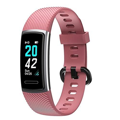 LQIAN ID152 Fitness Armband, Tracker Pulsmesser Wasserdicht IP68 Smartwatch Schrittzähler Activity Tracker Pulsmesser Sportuhr Damen Herren Anruf SMS Kompatibel mit iPhone Android