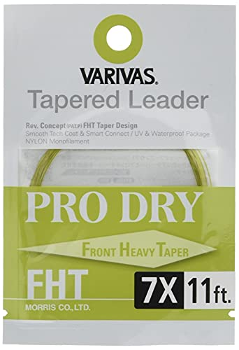 VARIVAS(バリバス) ハリス テーパードリーダー プロドライ FHT 11ft 7X TL-42