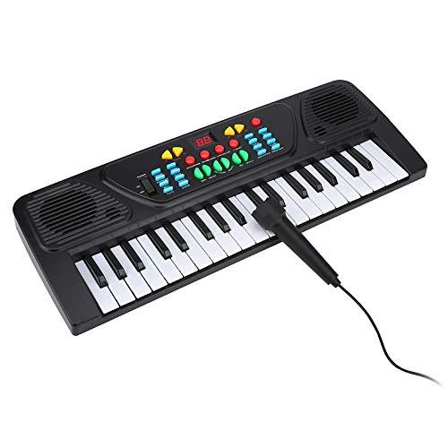 Bnineteenteam Tastiera Elettronica a 37 Tasti Mini Tastiera per Pianoforte Tastiera per Pianoforte per Bambini Principianti per Bambini
