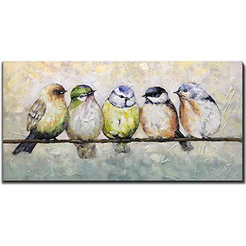 Oil Bird Print