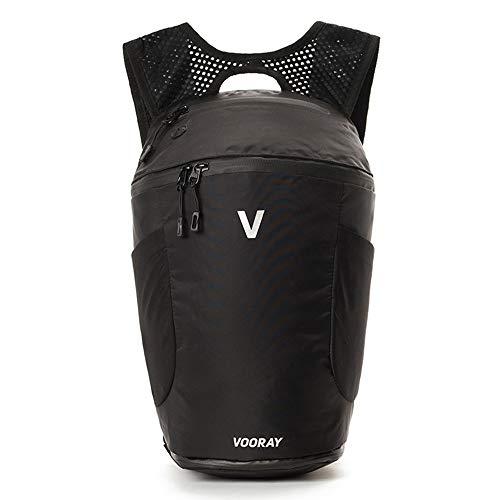 Vooray Pulse Active Backpack - 13,5L Backpack/Rucksack(Jet Black) - Discontinued Model