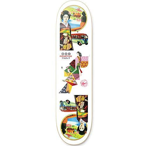 Primitive Robert Neal Skateboard-Brett/Deck, 21 cm, Weiß