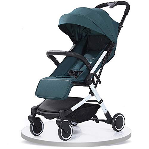 Best Prices! Baby Stroller, Convertible Reclining Stroller, Foldable and Portable Pram Carriage Anti...
