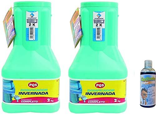 Dosificador Invernada 2kg (2) + Regalo de clarificador de Agua 100 ml