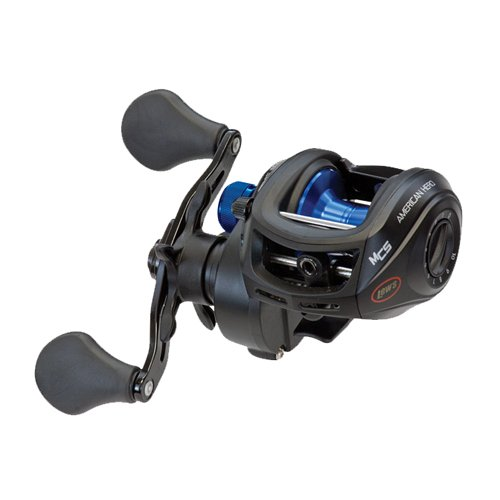 Lew's Fishing American Heroes Speed Spool Baitcast Reel (Boxed Pack), 7.2 oz./120 yd./12 lb./6.4:1