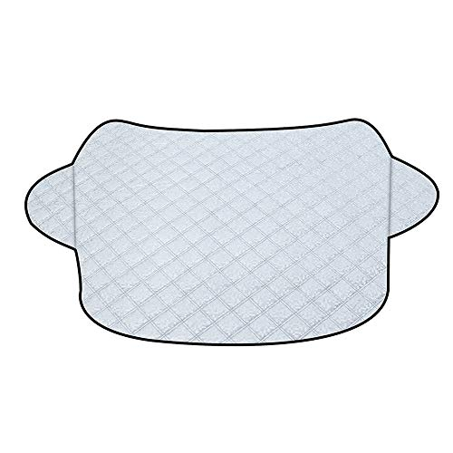 Ajing Car Windscreen Sun Shade Car Awning Car Tent UV Front Screen Sunshade Cover Protector Keep Car Cool Windshield Dust Cover Frost Snow Ice Cover in All Weather Large Sun Screens for Cars
