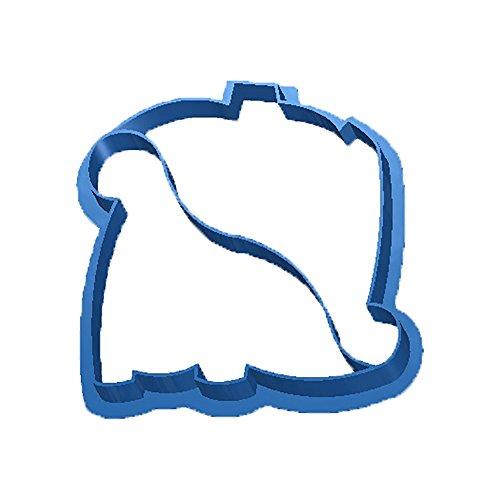 Cuticuter Dino Cortador de Sándwich, Azul, 8x7x1.5 cm