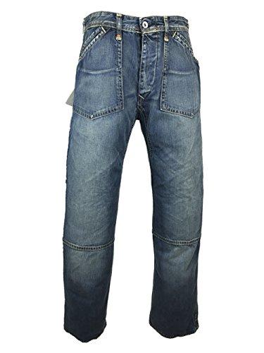 EVISU ESO5EM JE25 Top Notch Washed Jeans 36