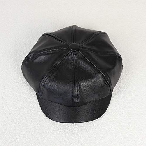 Baseball Kappe Hut Neue achteckige Mütze Hut Cbd Hochwertige Herrenmütze Britische Hutmode Original Leder Herren Newsboy Cap