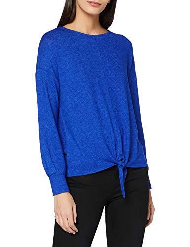 Street One Damen 315621 T-Shirt, Cobalt Blue Melange, 36