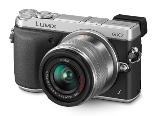 Panasonic LUMIX GX7 16.0 MP DSLM Camera with LUMIX G VARIO 14-42mm II Lens and Tilt-Live...