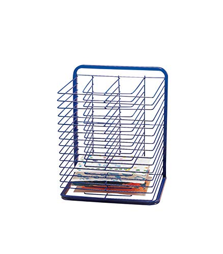 Marvel Education Co. Economy Drying Rack - 2 3/4 x 17 x 25 - Blue