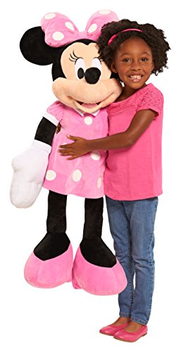 Disney Junior Mickey Mouse 40 Inch Giant Plush Minnie Mouse Stuffed Animal for Kids