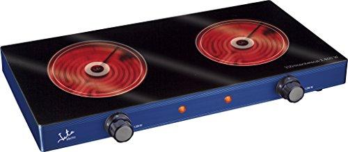 Jata V142 Cocina Eléctrica Vitrocerámica con Dos Placas de