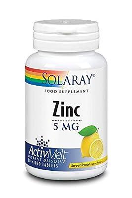 Solaray Zinc 5mg - ActivMelt by Solaray