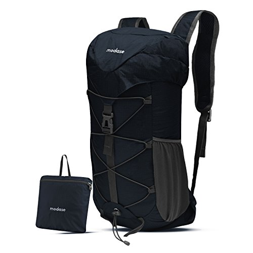 modase Backpack, Hiking Backpack, Large 40L Lightweight Water Resistant Travel Backpack Daypack with Hip Belt for Outdoor Climbing Camping Hiking Travel - Packable Hiking Daypack