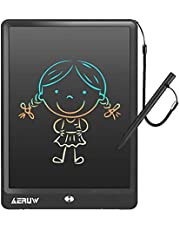LCD Writing Tablet with Sleeve Case, ERUW 10 Inch Electronic Graphics Drawing Pads, Drawing Board eWriter, Digital Handwriting Doodle Pad with Memory Lock for Kids Home School Office