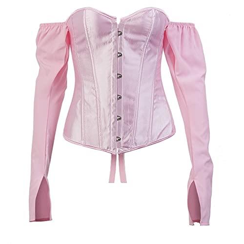 Moda damska Krótka bluzka na jedno ramię z długimi rękawami Prosta jednokolorowa talia Tie Lina Sexy Halter TopL