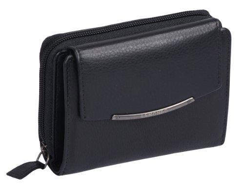 CILINIE Damenbörse CILINIE in Echt-Leder, schwarz