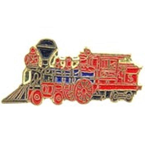 "CP Huntington Locomotive Pin Red 1"""