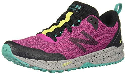 New Balance Girls' Nitrel V5 Running Shoe, Carnival/Black, 4 M US Big Kid