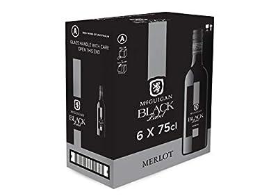 McGuigan Black Label Merlot, 75 cl (Pack of 6)