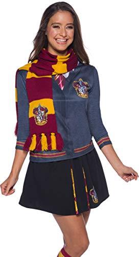 Harry Potter Deluxe Bufanda Gryffindor, Multicolor, (Rubie'S