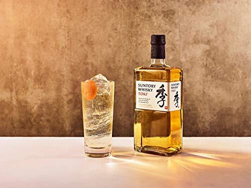 Suntory Whisky Toki Japanischer Blended Whisky mit feinem, süßen und würzigem Abgang, 43% Vol, 1 x 0,7l - 2