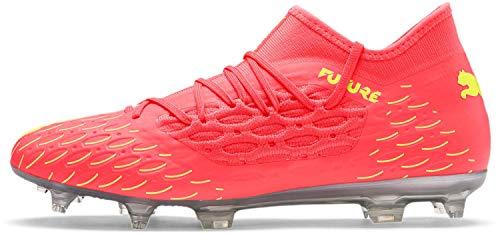 PUMA - Mens Future 5.3 Netfit Shoes, Size: 10 D(M) US, Color: Nrgy Peach/Fizzy Yellow