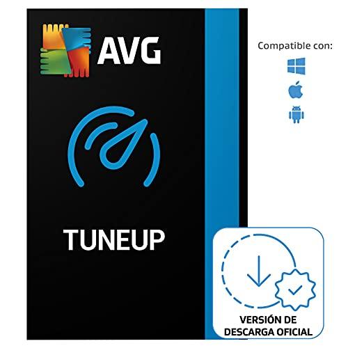 AVG TuneUp - Elimina los archivos basura y acelera el sistema operativo   10 Dispositivo   1 Año   PC/Mac   Código de activación enviado...