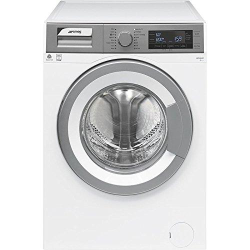 Smeg WHT812LSIT Libera installazione Caricamento frontale 8kg 1200Giri min A+++ Argento, Bianco lavatrice