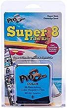 Pro8mm COLOR Super 8 Film Kit for Super 8mm Film Cameras Black