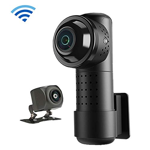 HZHHH Dash Cam WiFi Auto DVR 4K 2160P HD Super-Nachtsicht-Miniauto-Kamera DVR Wireless-G-Sensor-Fahrenrecorder Video-Schlag-Kamera
